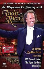 Unforgettable Evening with Andre Rieu - (Region 1 Import DVD)
