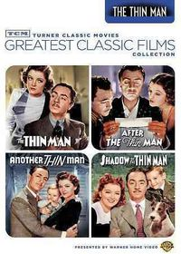 Tcm Greatest Classic:Thin Man Vol 1 - (Region 1 Import DVD)