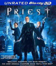 Priest (3d) - (Region A Import Blu-ray Disc)
