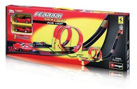 Bburago - Ferrari 1/43 Race & Play Dual Loop Playset