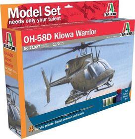 Italeri - 1/72 027 AH-58D Kiowa Warrior Model-set