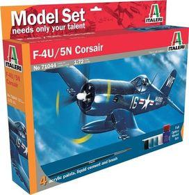 Italeri - 1/72 044 F-4U/5N Corsair Model-set