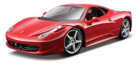 Maisto - 1/24 Ferrari 458 Italia Kit - Red