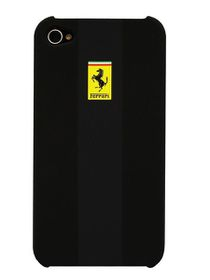 Ferrari Stradale iPhone 4/4S Rubber Hardcase Black