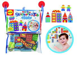 Alex Toys - Stickers For The Tub - City