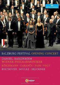 2010 Salzburg Festival Opening Concer - (Region 1 Import DVD)