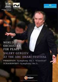 World Orch for Peace:Gergiev at the a - (Region 1 Import DVD)