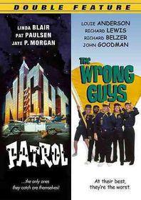 Night Patrol/Wrong Guys - (Region 1 Import DVD)