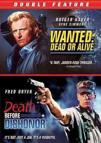 Wanted Dead or Alive/Death Before Dis - (Region 1 Import DVD)