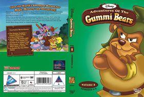 Disney's Adventures of the Gummi Bears Vol 1 Disc 1 (DVD)