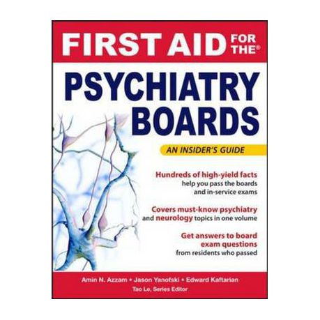 First Aid For The Psychiatry Boards Buy Online In South Africa