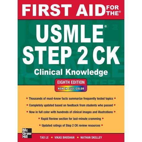 First Aid Usmle Step 2 Ck 8th Edition Pdf