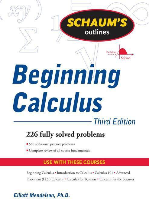 Schaums outline of beginning calculus third edition ebook buy schaums outline of beginning calculus third edition ebook fandeluxe Image collections