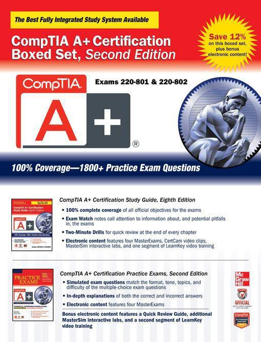 Comptia A Certification Boxed Set Second Edition Exams 220 801