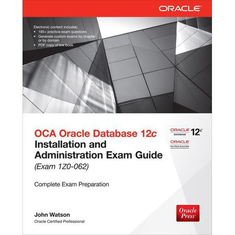 Certification books 12c pdf oracle