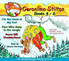 Geronimo Stilton Books 4-6