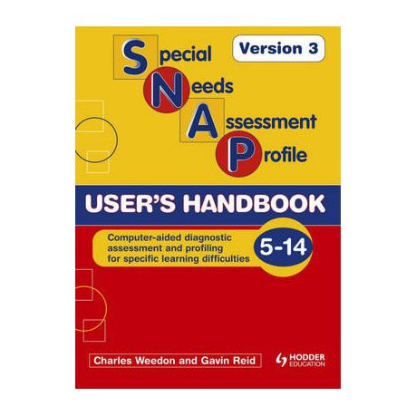 Online Handbook For Special Needs >> Special Needs Assessment Profile Snap Spld User S Handbook Version 3