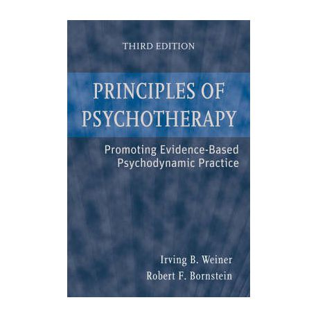 Principles of Psychotherapy: Promoting Evidence-Based Psychodynamic Practice