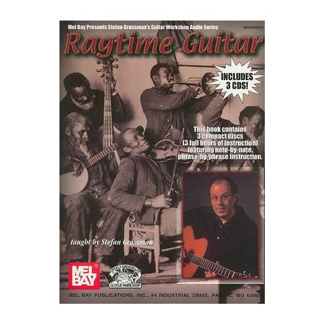 Ragtime Guitar [With 3 CDs]