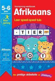 Afrikaans 5-6 Jaar Voorsprong-Werkboek