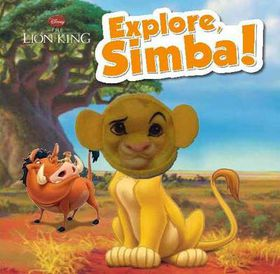 Disney the Lion King Explore, Simba!