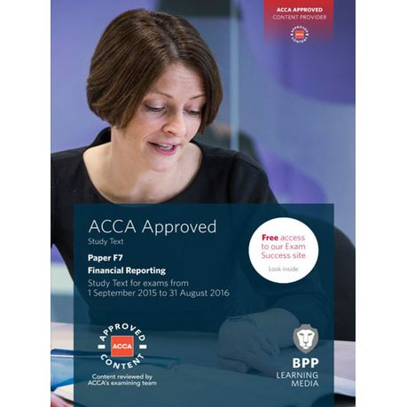 ACCA F7 Financial Reporting (eBook)