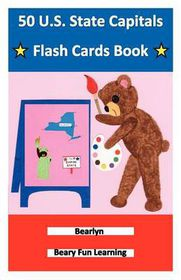 50 U.S. State Capitals Flash Cards Book