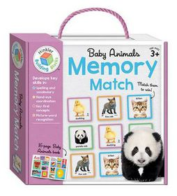 Memory Match Baby Animals