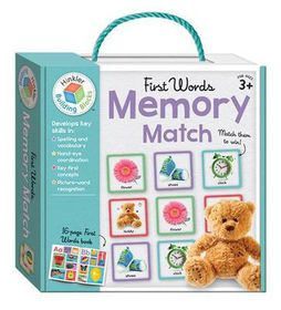 Memory Match First Words