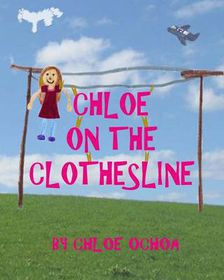 Chloe on the Clothesline
