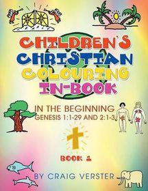 Children's Christian Colouring In-Book