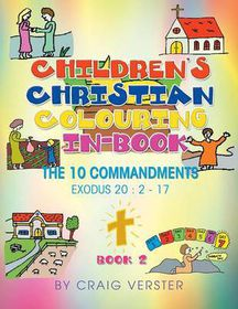Children's Christian Colouring-In Book
