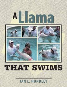 A Llama That Swims