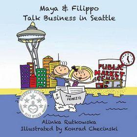 Maya & Filippo Talk Business in Seattle