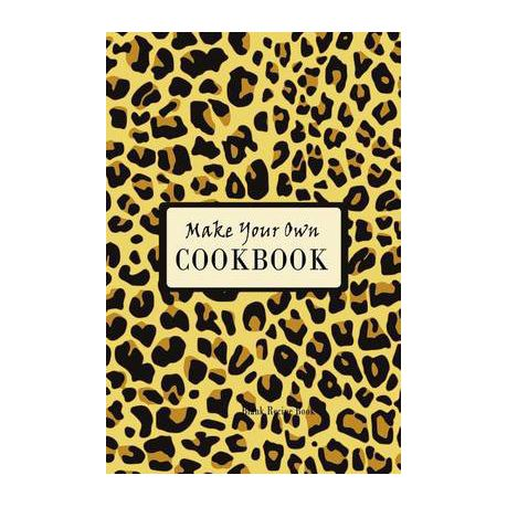 make your own cookbook blank recipe book buy online in south