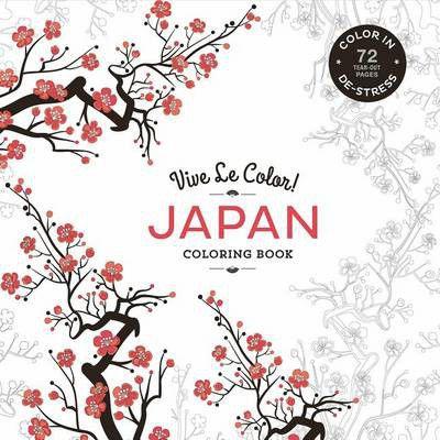 Vive Le Color Japan Adult Coloring Book