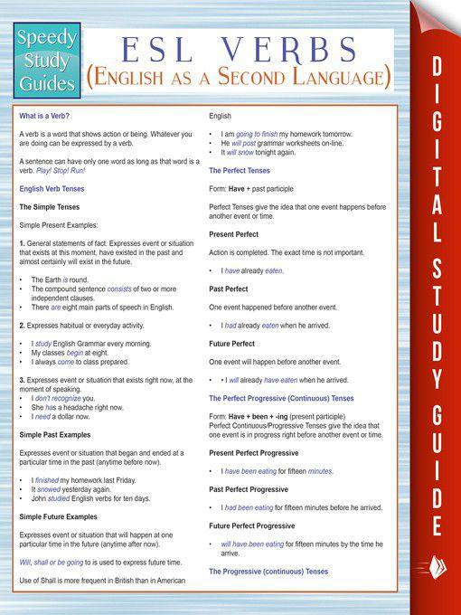 Esl study guide ebook array esl verbs english as a second language speedy study guides rh takealot com fandeluxe Gallery