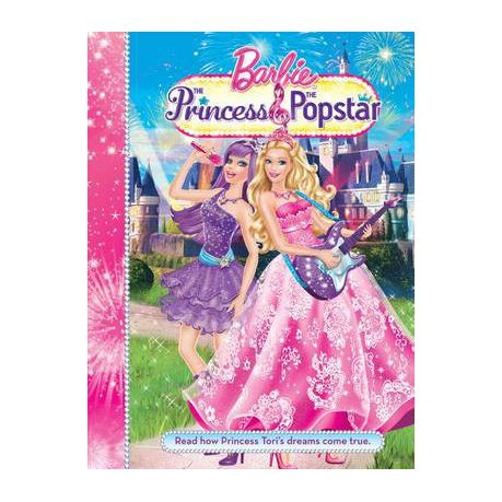 barbie and the princess and the popstar story book buy online in