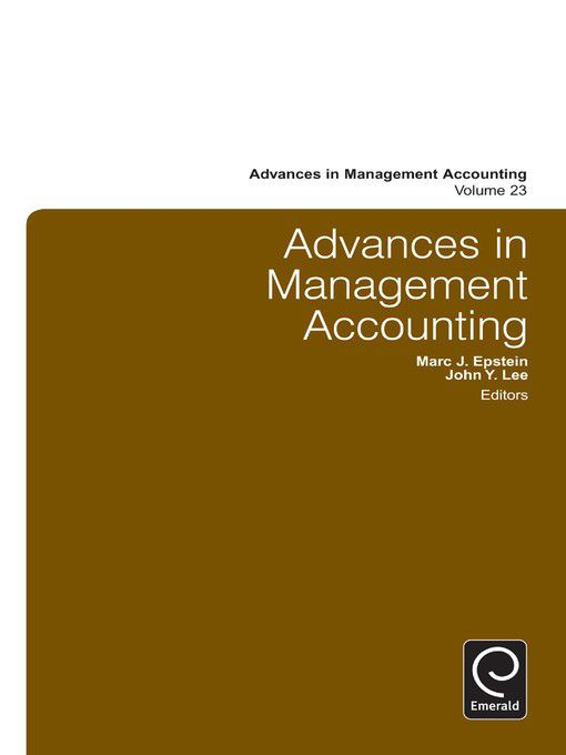 Advances in management accounting ebook buy online in south advances in management accounting ebook loading zoom fandeluxe Choice Image