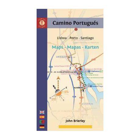Camino Portugues Karte.Camino Portugues Maps Mapas Karten