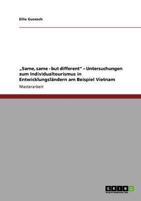 same same but different untersuchungen zum individualtourismus in entwicklungslandern am beispiel vietnam loading zoom - Entwicklungslander Beispiele