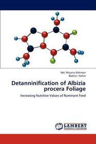 Detanninification of Albizia Procera Foliage