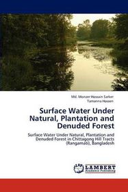 Surface Water Under Natural, Plantation and Denuded Forest