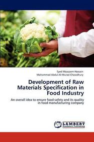 Development of Raw Materials Specification in Food Industry