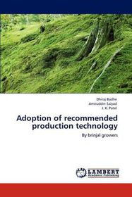 Adoption of Recommended Production Technology