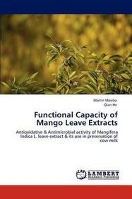 Functional Capacity of Mango Leave Extracts